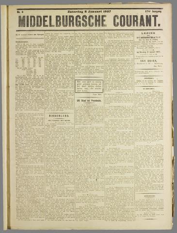 Middelburgsche Courant 1927-01-08