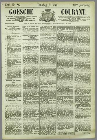 Goessche Courant 1906-07-24