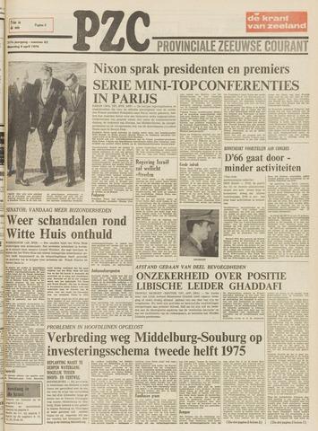 Provinciale Zeeuwse Courant 1974-04-08
