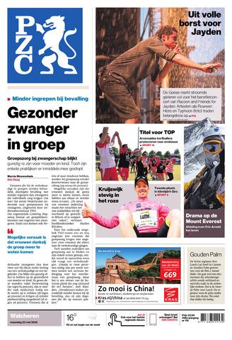Provinciale Zeeuwse Courant 2016-05-23
