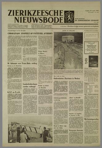 Zierikzeesche Nieuwsbode 1963-04-26