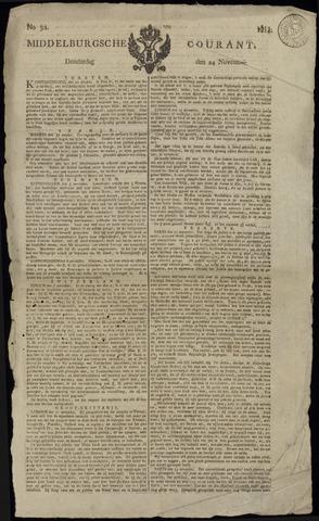 Middelburgsche Courant 1814-11-24