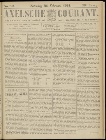 Axelsche Courant 1921-02-26