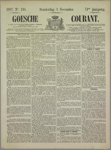 Goessche Courant 1887-11-03