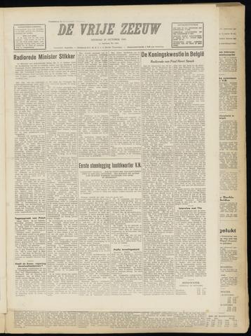 de Vrije Zeeuw 1949-10-25
