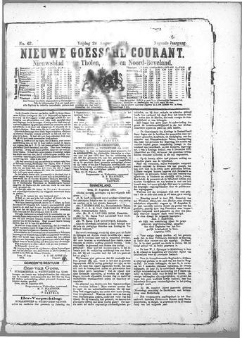 Nieuwe Goessche Courant 1874-08-28