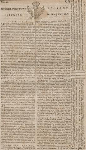 Middelburgsche Courant 1785-01-22