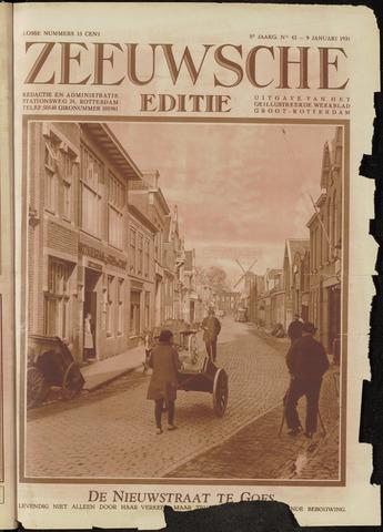 Ons Zeeland / Zeeuwsche editie 1931-01-09