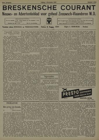 Breskensche Courant 1938-11-04