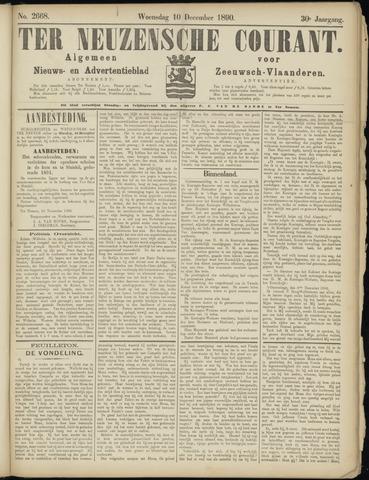Ter Neuzensche Courant. Algemeen Nieuws- en Advertentieblad voor Zeeuwsch-Vlaanderen / Neuzensche Courant ... (idem) / (Algemeen) nieuws en advertentieblad voor Zeeuwsch-Vlaanderen 1890-12-10