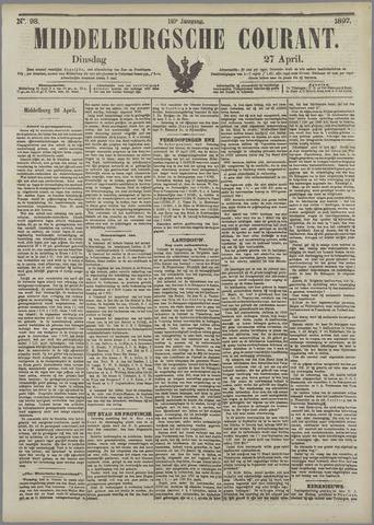 Middelburgsche Courant 1897-04-27