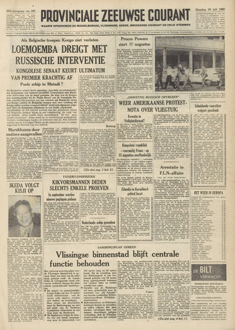 Provinciale Zeeuwse Courant 1960-07-19