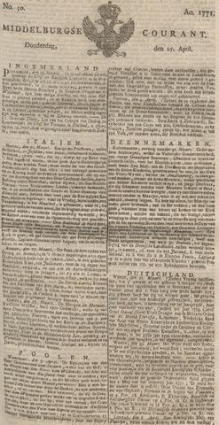 Middelburgsche Courant 1771-04-25