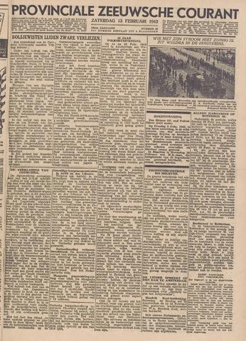 Provinciale Zeeuwse Courant 1943-02-13