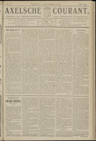 Axelsche Courant 1924-12-05