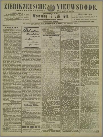 Zierikzeesche Nieuwsbode 1911-07-19