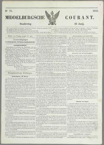 Middelburgsche Courant 1855-06-23