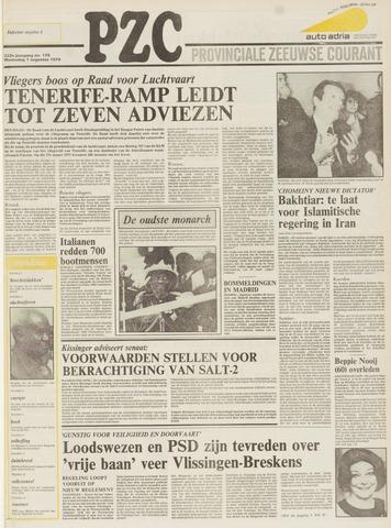 Provinciale Zeeuwse Courant 1979-08-01