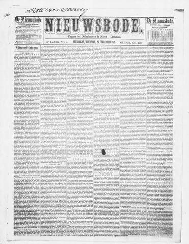 Sheboygan Nieuwsbode 1858-02-23