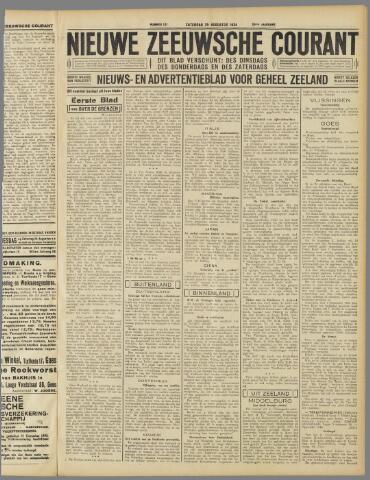 Nieuwe Zeeuwsche Courant 1934-08-25