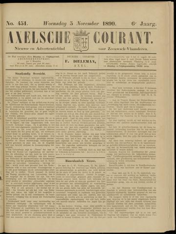 Axelsche Courant 1890-11-05