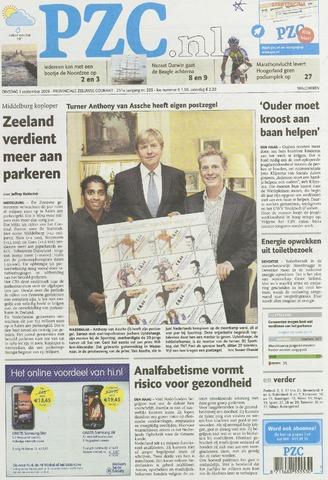 Provinciale Zeeuwse Courant 2009-09-01