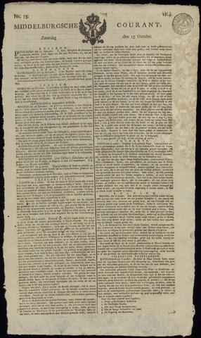 Middelburgsche Courant 1814-10-15