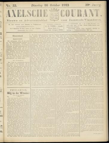 Axelsche Courant 1923-10-16