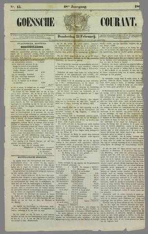 Goessche Courant 1861-02-21