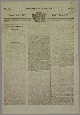 Goessche Courant 1844-10-21
