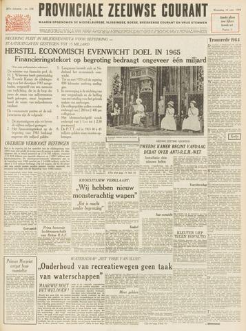 Provinciale Zeeuwse Courant 1964-09-16