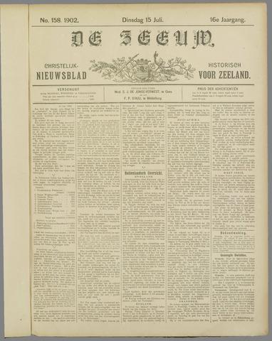 De Zeeuw. Christelijk-historisch nieuwsblad voor Zeeland 1902-07-15