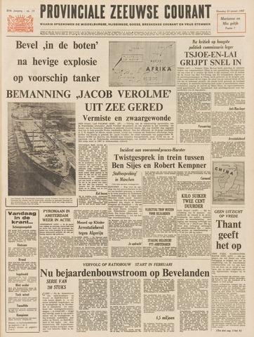 Provinciale Zeeuwse Courant 1967-01-23