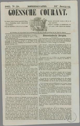 Goessche Courant 1865-04-06