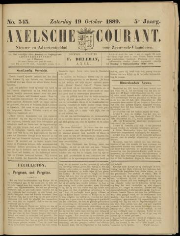 Axelsche Courant 1889-10-19
