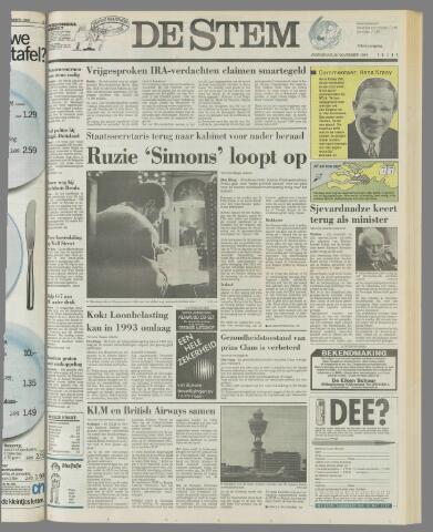 de Stem 1991-11-20