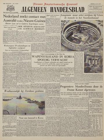 Watersnood documentatie 1953 - kranten 1953-06-05