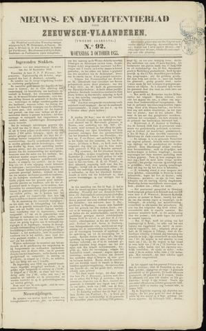 Ter Neuzensche Courant. Algemeen Nieuws- en Advertentieblad voor Zeeuwsch-Vlaanderen / Neuzensche Courant ... (idem) / (Algemeen) nieuws en advertentieblad voor Zeeuwsch-Vlaanderen 1855-10-03