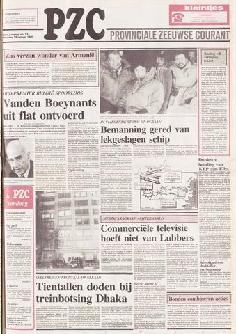 Provinciale Zeeuwse Courant 1989-01-16
