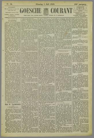 Goessche Courant 1919-07-01