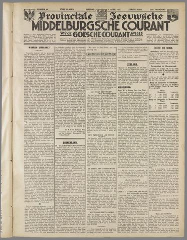 Middelburgsche Courant 1933-04-04