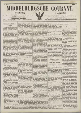 Middelburgsche Courant 1901-08-01