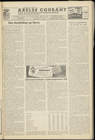 Axelsche Courant 1954-10-16