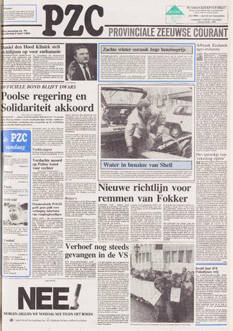 Provinciale Zeeuwse Courant 1989-04-06