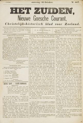 Het Zuiden, Christelijk-historisch blad 1880-10-30