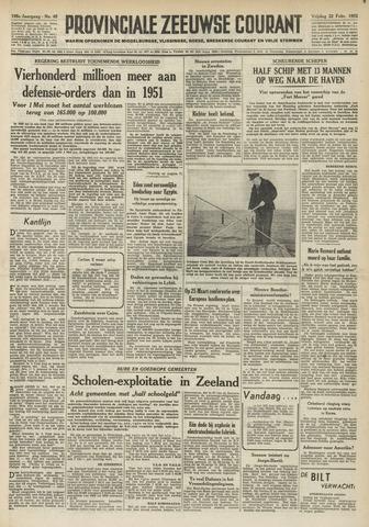 Provinciale Zeeuwse Courant 1952-02-22