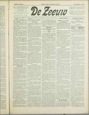 De Zeeuw. Christelijk-historisch nieuwsblad voor Zeeland 1934-05-15