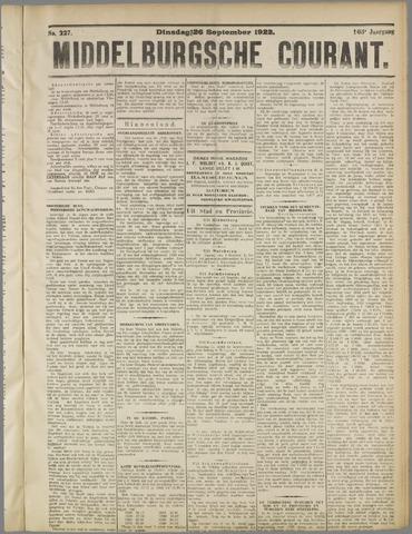 Middelburgsche Courant 1922-09-26