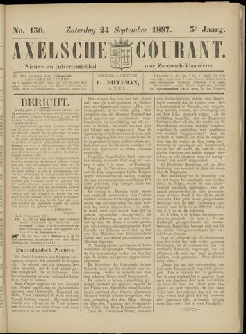 Axelsche Courant 1887-09-24