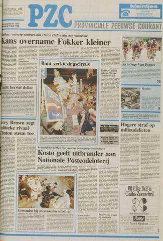 Provinciale Zeeuwse Courant 1992-07-15